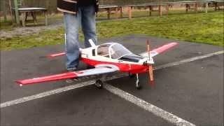 Scottish Aviation Bulldog - (electric) At Clark County Radio Control Society - Ccrcs