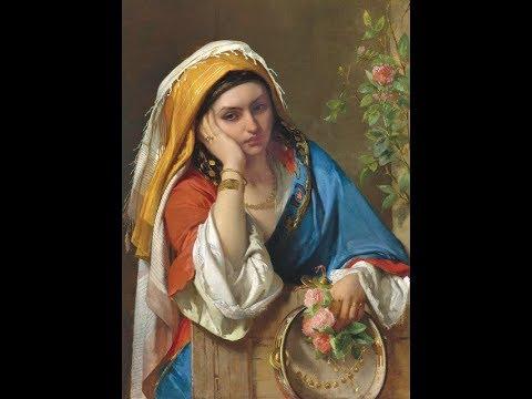 Jean-Francois Portaels (1818-1895) Belgian painter ✽ Ernesto Cortazar music