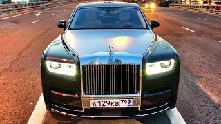 ЗАБРАЛ новый ROLLS-ROYCE PHANTOM за 40 МЛН (!!!) Топим на V12, 6.75 л, 571 л.с.! RR PHANTOM VIII / 8