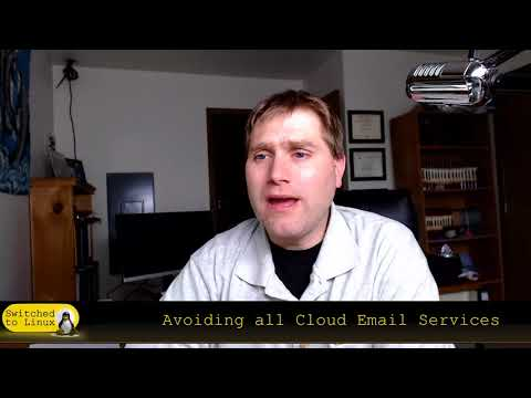 How to Avoid All Cloud Email Services (gmail, hotmail, yahoo)