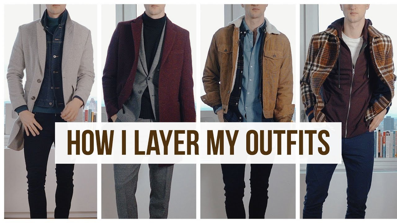 Layering FallWinter Men's Outfits | Men's Fashion | Outfit Ideas