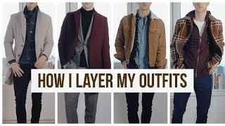Layering Fall/Winter Men