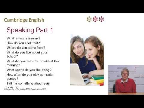 Introducing Cambridge English: Key for Schools