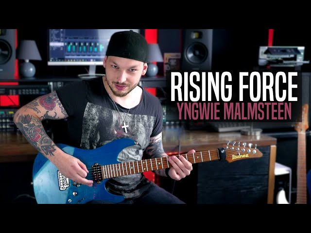 Yngwie Malmsteen - Rising Force feat. Herbie Langhans (Full-Band-Cover)