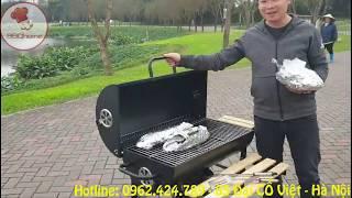 Bếp nướng than hoa bbq05 -bbqhome.vn