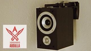 видео Кронштейн для аудио колонок