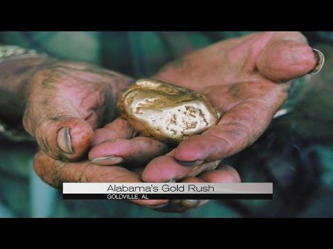 Alabama's gold rush
