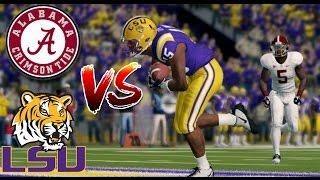 ALABAMA vs LSU!! - NCAA Football 14