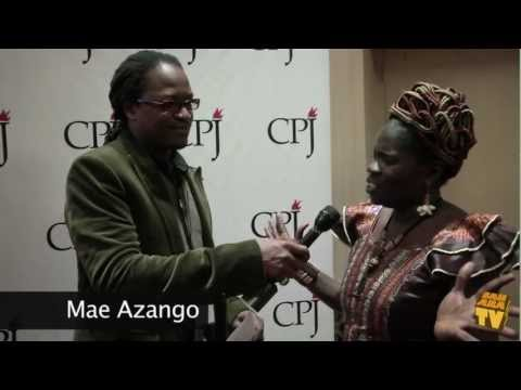 SaharaTV covers The CPJ event at the Waldorf Astoria New York - Focusing on Journalist Mae Azango.