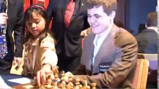 Girl first move, Magnus Carlsen against Hikaru Nakamura rivality