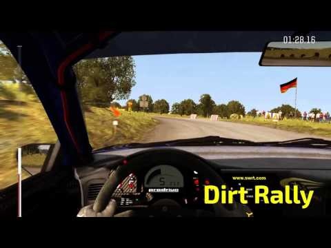 WRC 5 Vs Dirt Rally - Graphics Comparison