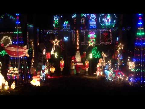 The Heindel House in Raleigh NC Christmas 2015