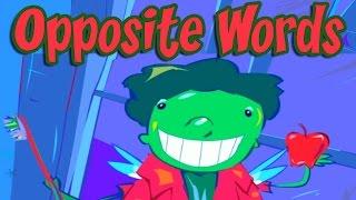 Opposites - Funny Game for Kids, Find Opposite Words, Antonyms, Educational Videos for Children