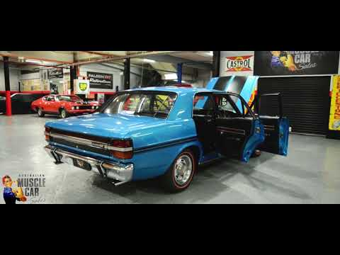 1971 Ford Falcon XY GT Electric Blue