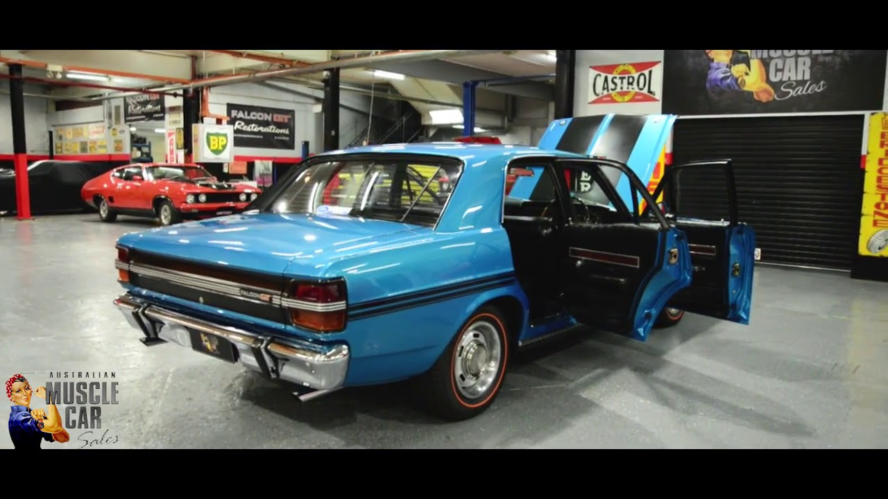 Ford Falcon Xy Gt Electric Blue