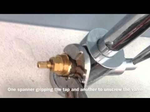 Franke Olympus - replacing a dripping Mixer Tap ceramic Cartridge ...