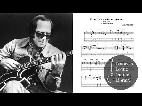 Polka Dots and Moonbeams - Howard Roberts (Transcription)