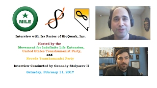 MILE / U.S. Transhumanist Party Interview with Ira Pastor of Bioquark, Inc.