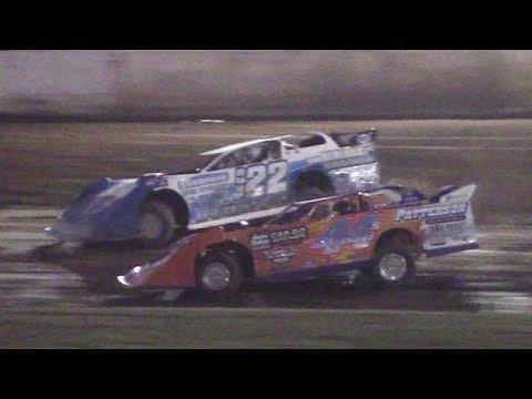 Super Late Model Heat Two | Eriez Speedway | 7-16-17