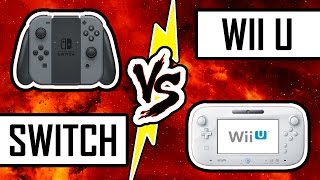 DUEL DE CONSOLES : NINTENDO SWITCH VS WII U