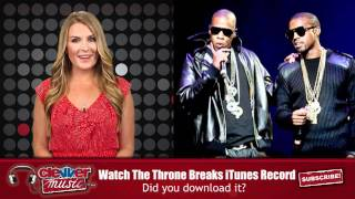 Watch The Throne Breaks iTunes Record