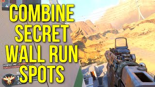Black Ops 3: COMBINE SECRET WALL RUN SPOTS! (Amazing Mobility Tactics)