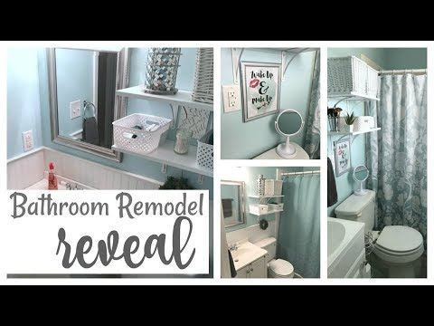 Bathroom Remodel REVEAL | Remodeling Two Bathrooms On A Budget