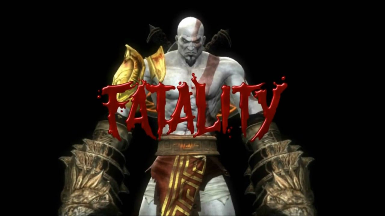 Video - Mortal Kombat 9 (2011) Kratos First & Second Fatality HD