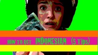 Thumbnail of How to act Indonesian (5 TIPS)