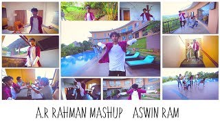 Download A. R. Rahman Mashup (16 Songs - One Take) | Aswin Ram ft. Choreo Grooves
