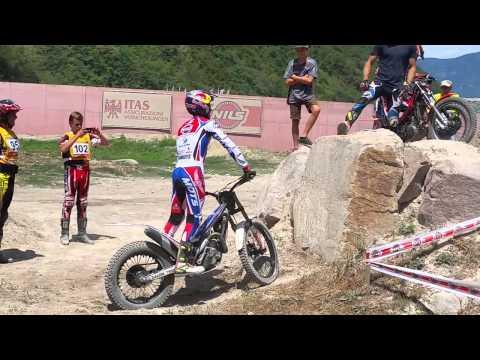 Adam Raga Trial Scuola Trial Safty Park Bolzano