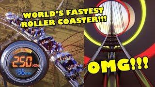 Falcon's Flight! World's FASTEST TALLEST LONGEST Roller Coaster Announced! 250 KMH!