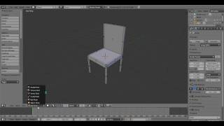 Blender Basic Chair Tutorial For Beginners
