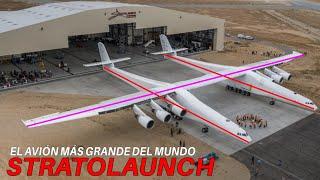 ¿Ya conoces el avión MÁS GRANDE del mundo? - STRATOLAUNCH Roc / KSGAviation