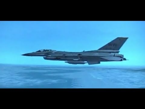 F-16 F 4.0+RV HQ A-A RADAR MODES PART 2