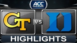 2013 ACC Football Highlights | Georgia Tech vs Duke | ACCDigitalNetwork