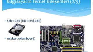 Bilgisayar | Donanım nedir ? Parçaları ne işe yarar? - Bilgisayar donanımları hakkında temel bilgilerin anlatıldığı video.