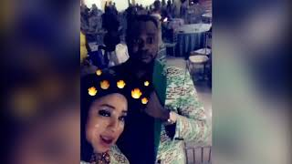 Mide Martins Twerk For Her Husband Afeez Owo At Odunlade Adekola Party