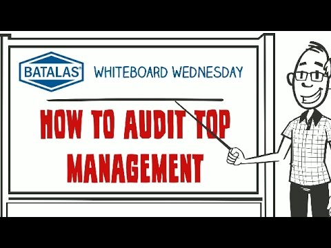 Batalas - How to audit top management
