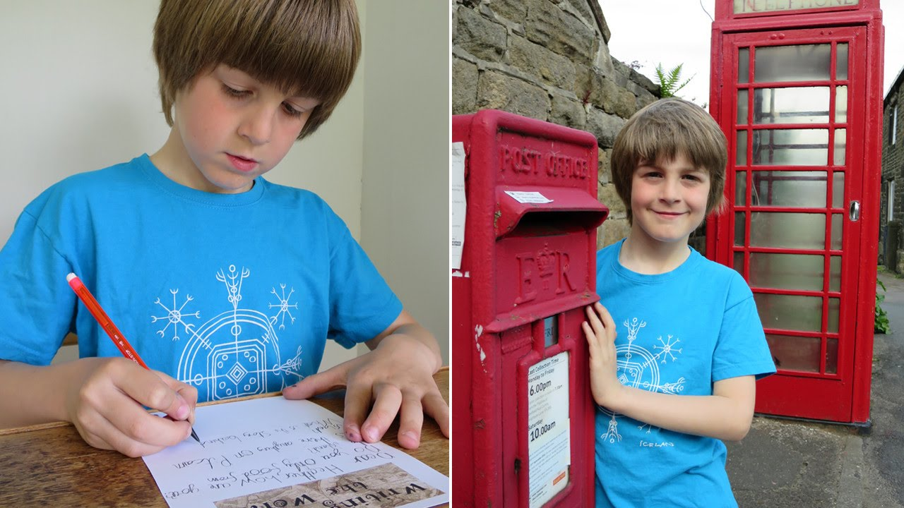 Boy Has Written 1,000 Letters to Find Pen Pals in Every