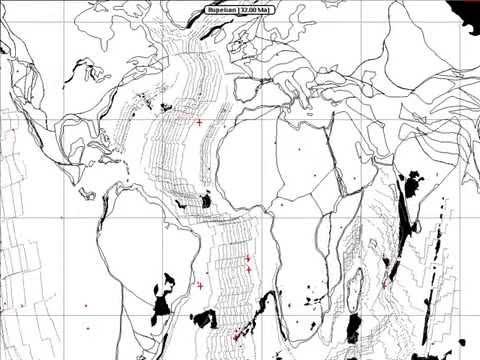 Hot Spot Animation  (Atlantic Ocean)