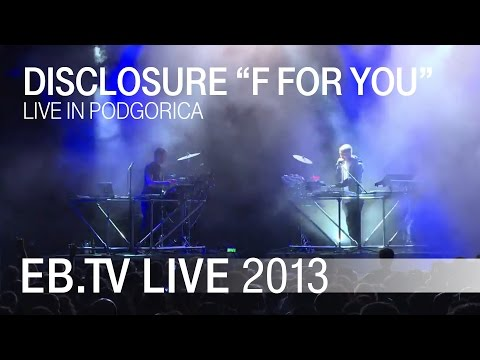 "DISCLOSURE ""F For You"" // EB.TV Live Classics"