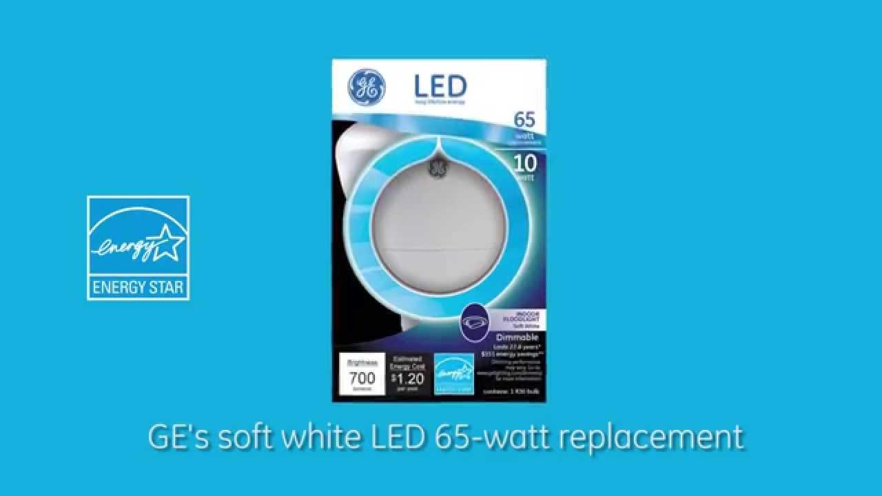 Soft White R30 LED ENERGY STAR® Indoor Floodlight   GE Lighting