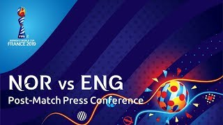 NOR v. ENG -  Post-Match Press Conference