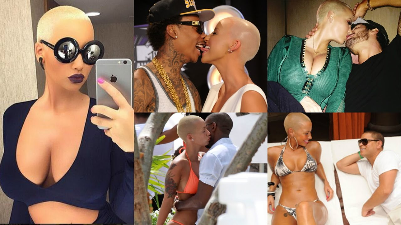 amber rose dating timeline