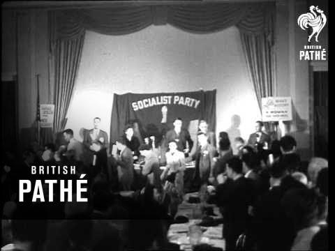 Socialist Convention Reading Pennsylvania. (1948)