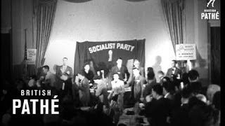 Socialist Convention Reading Pennsylvania. (1948)