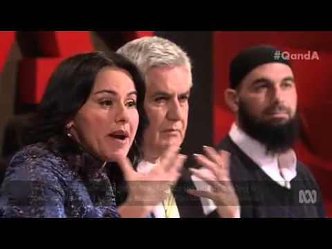 Sheikh Wesam Charkawi, Muslim chaplain and community leader on ABC TV Q and A