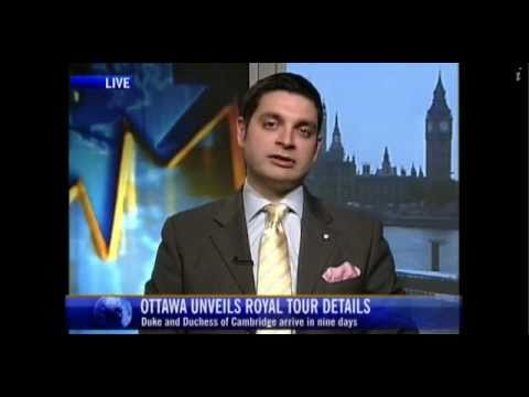 Canadian Royal Tour Details 2011
