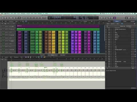 how to draw chords logic pro